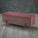 Lola Bedroom Storage Ottoman - Four Colours - Mayflower Furniture