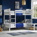Leo Bunk Bed - Three Colours - Mayflower Furniture