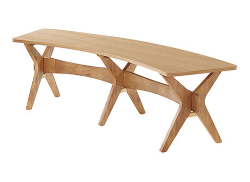 Malmo Oak Finish Dining Bench - Mayflower Furniture