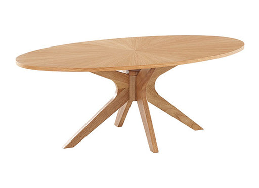 Malmo Solid Oak Coffee Table - Mayflower Furniture