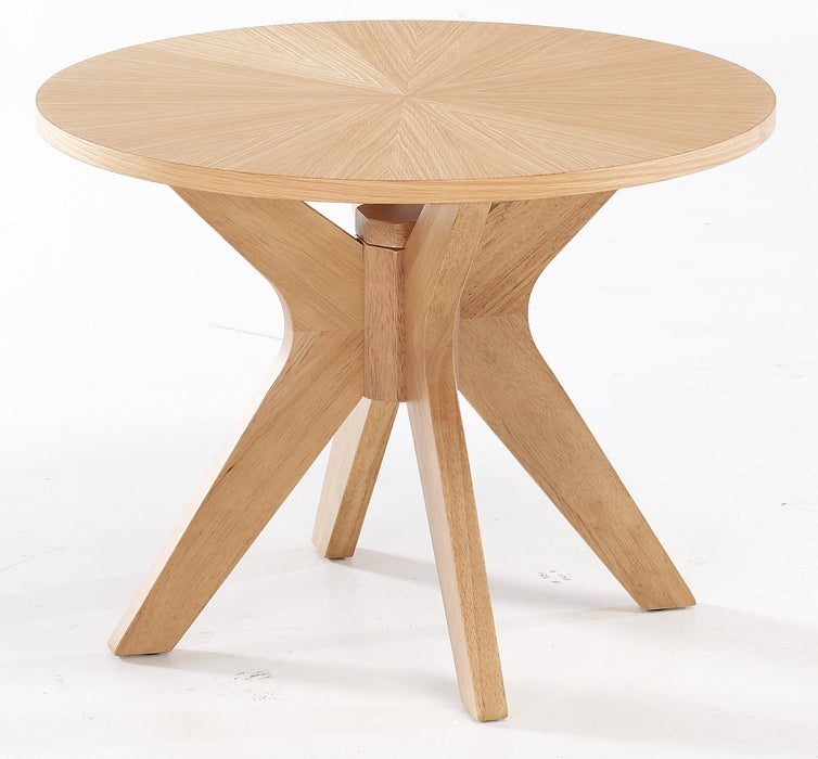 Malmo Solid Oak End Table - Mayflower Furniture