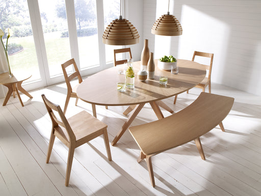 Malmo Solid Wood Dining Set - Two Options - Mayflower Furniture