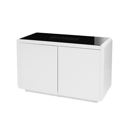 Matrix White Gloss LED Sideboard - Mayflower Furniture
