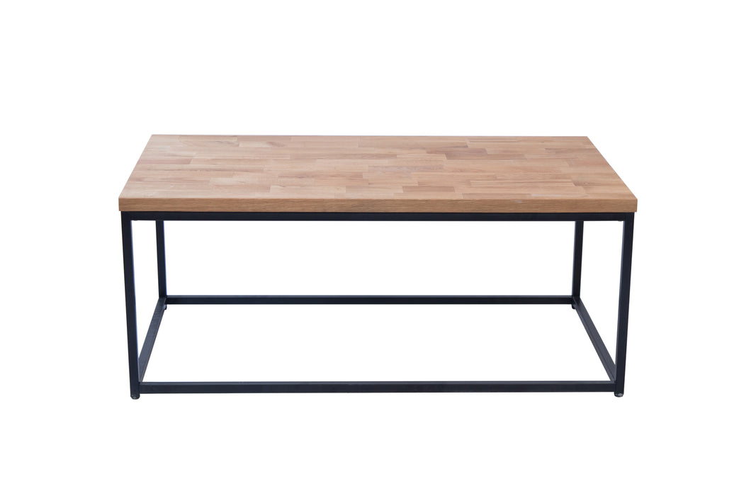 Mirelle Metal Wooden Coffee table - Two Colours - Mayflower Furniture