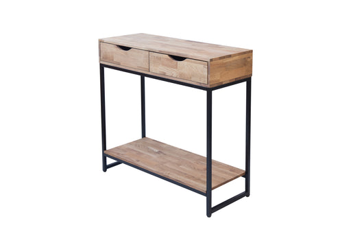 Mirelle Metal Wooden Console Table - Two Colours - Mayflower Furniture