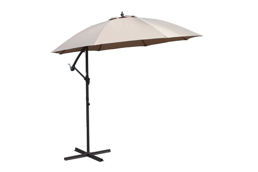 3m Cantilever Cream Parasol - Mayflower Furniture