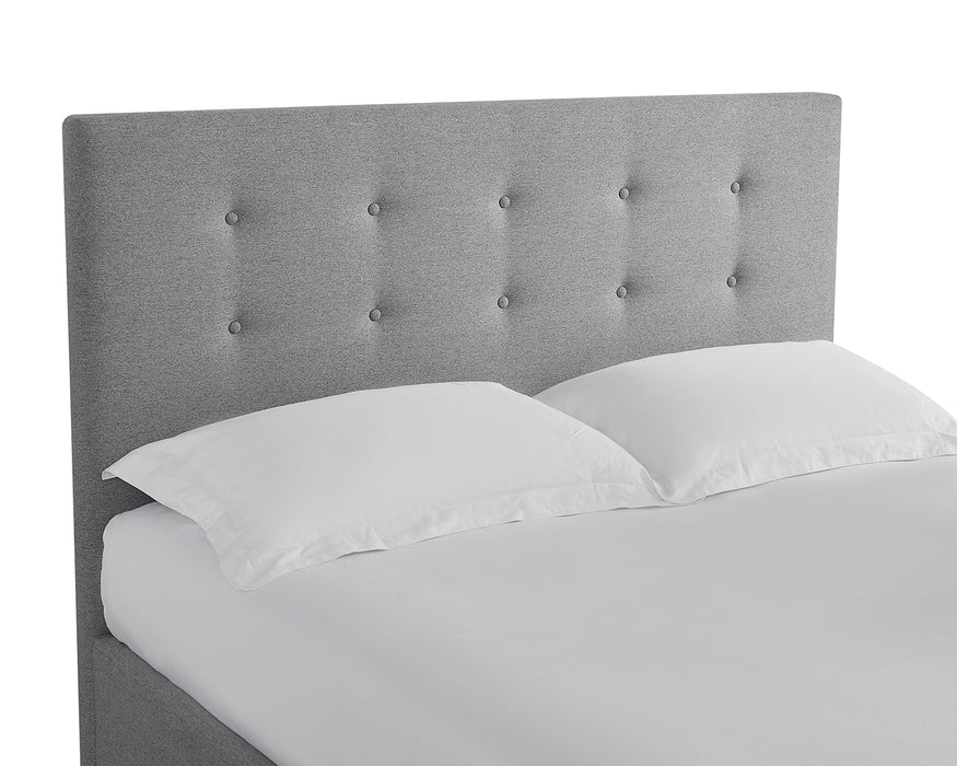 Mayfair TV King Size Bed Grey - Mayflower Furniture