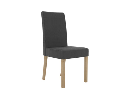 Melodie Pair Of Fabric Dining Chairs - Two Colours - Mayflower Furniture