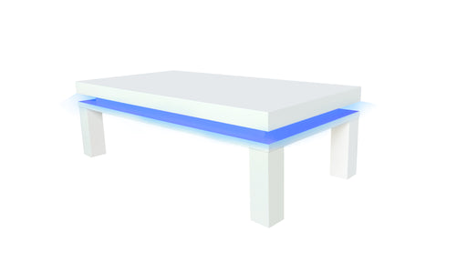 Milano White Gloss LED Coffee Table - Mayflower Furniture