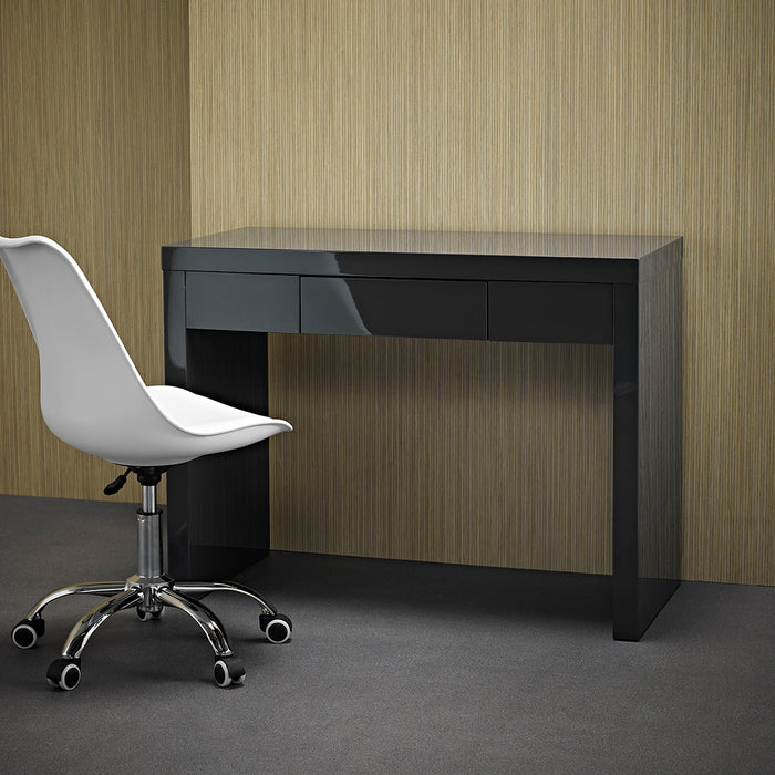 Puro High Gloss Office Desk - Four Colours - Mayflower Furniture