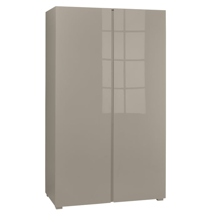 Puro High Gloss Two Door Wardrobe - Four Colours - Mayflower Furniture
