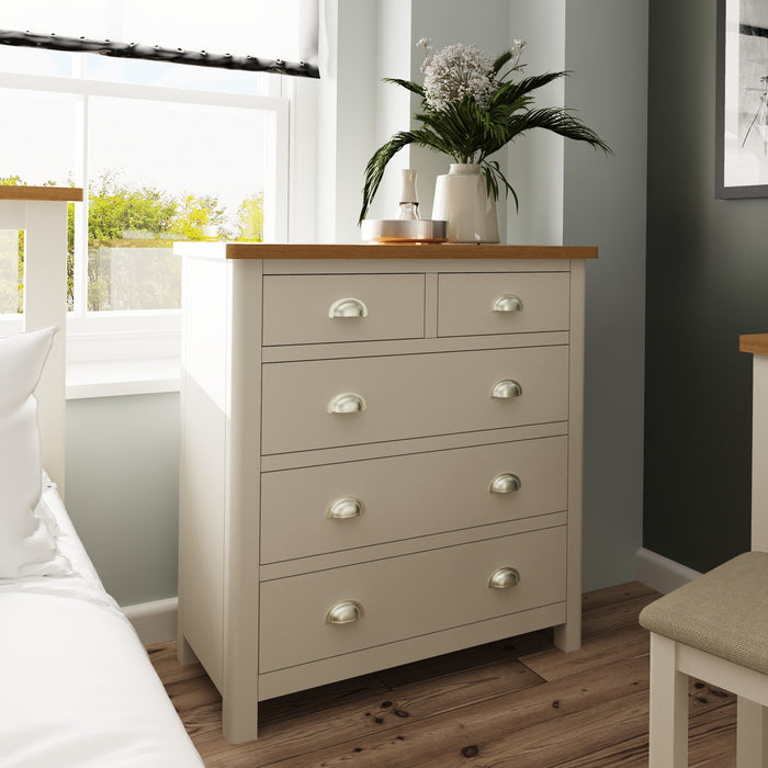 Chester Two Over Three Chest Of Drawers - Two Colours