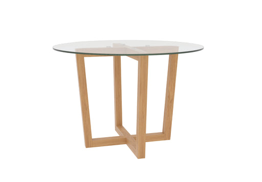 Valencia Glass Dining Table - Mayflower Furniture