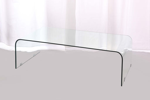 Azurro Glass Coffee Table - Mayflower Furniture