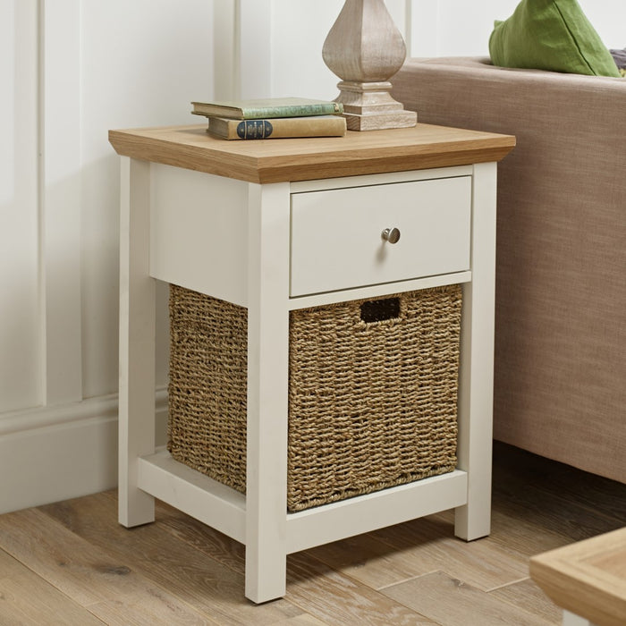 Berkeley Side Table - Two Colours - Mayflower Furniture
