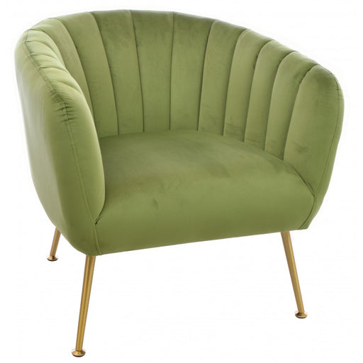 Cromarty Army Green Tub Chair - Mayflower Furniture