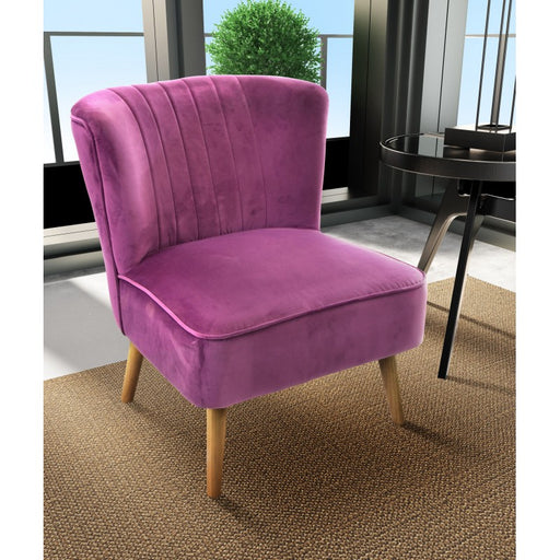 Cromarty Chair Plum - Mayflower Furniture