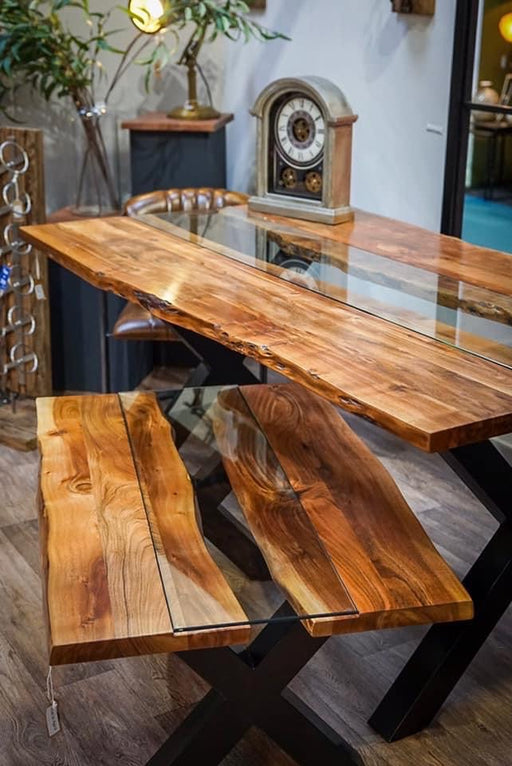 Live Edge Collection River Coffee Table - Mayflower Furniture