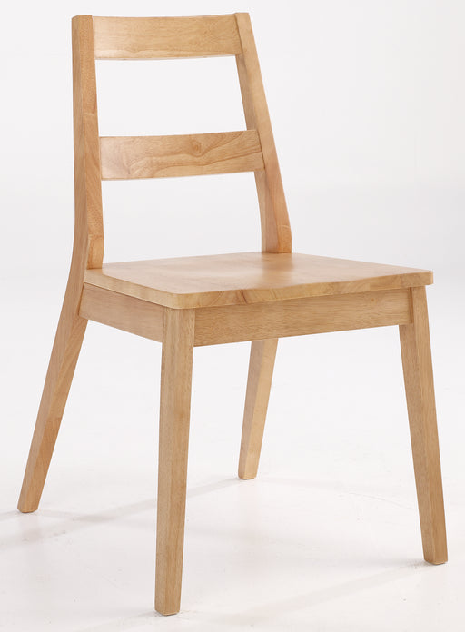 Malmo Pair Of Wooden Dining Chairs - Mayflower Furniture
