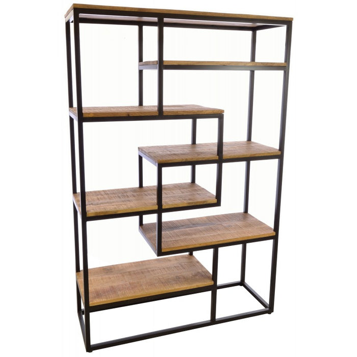 Old Empire Large Open Bookcase - Mayflower Furniture