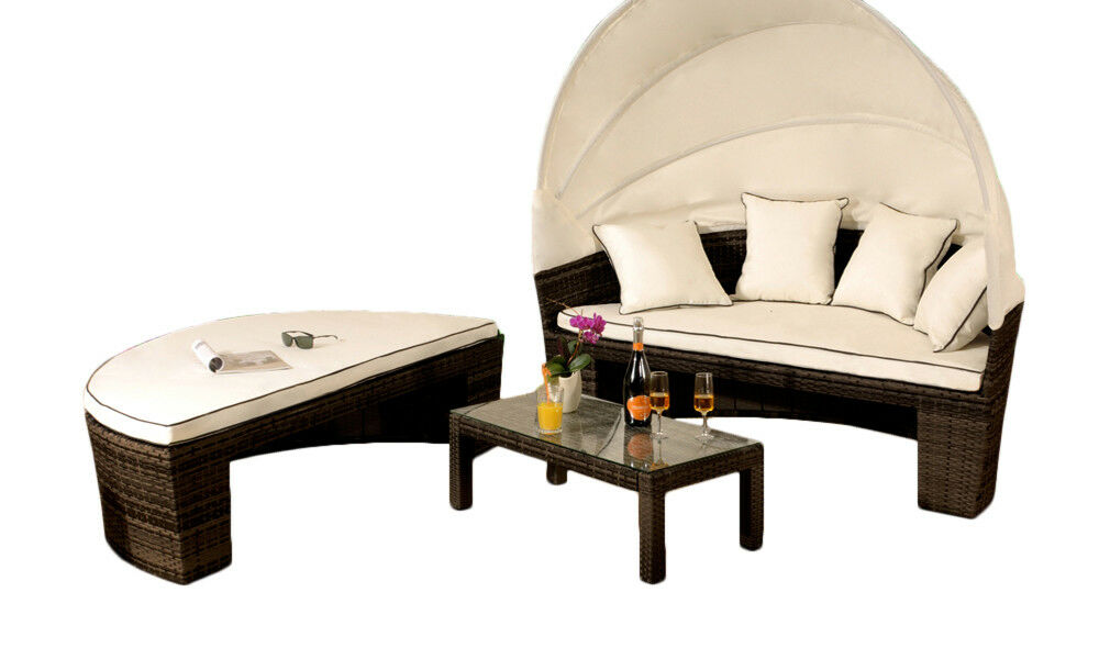 Hamilton Day Bed Lounge Set - Brown - Mayflower Furniture