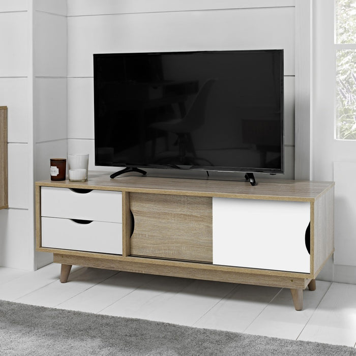Nordi TV Media Unit - Two Colours - Mayflower Furniture