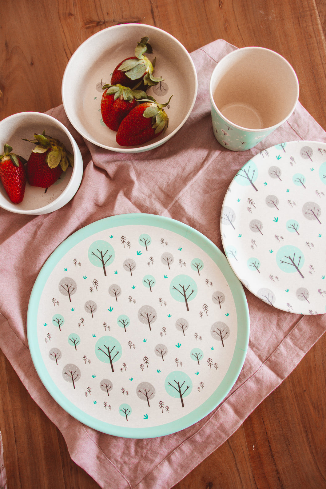 Eco Cubs Plant-based Dinnerware- Welcome Pack