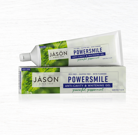 Powersmile(R) Anti-Cavity & Whitening Gel Powerful Peppermint