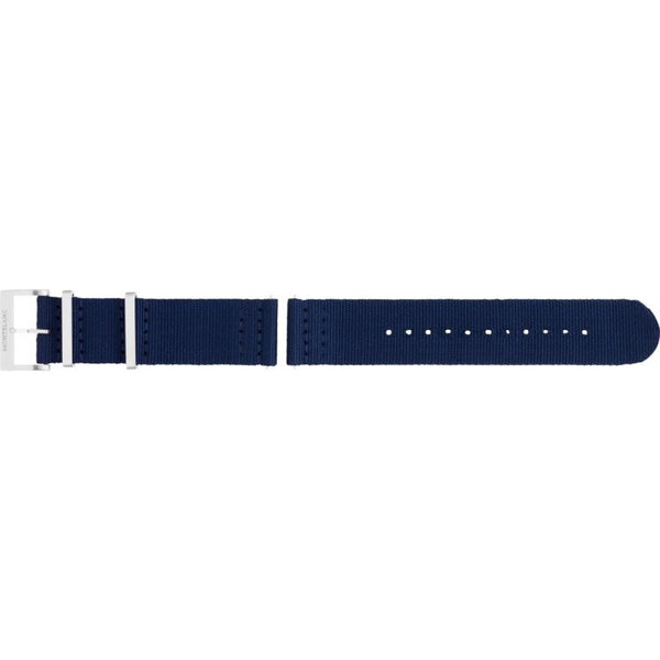 Bracelet Montblanc Summit 2 en nylon bleu - Boutique-Officielle-Montblanc-Cannes
