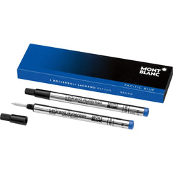 2 recharges pour rollerball LeGrand (B) Pacific Blue - Boutique-Officielle-Montblanc-Cannes