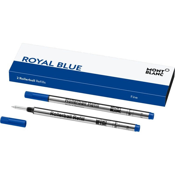 2 recharges de rollerball (F), Royal Blue