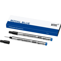 2 recharges pour Rollerball LeGrand (F), Royal Blue
