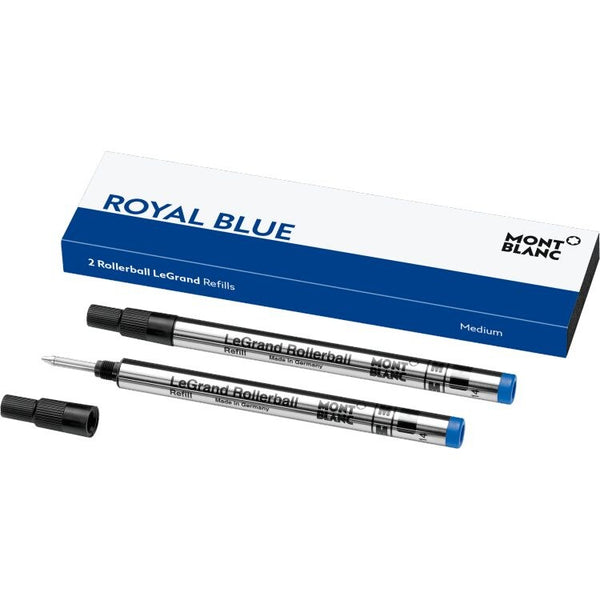 2 recharges pour rollerball LeGrand (M) Pacific Blue