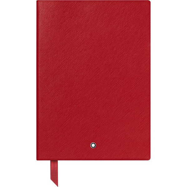 Carnet #146 Montblanc Fine Stationery, Red, Avec Lignes - Boutique-Officielle-Montblanc-Cannes