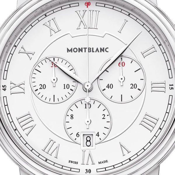 Montre Montblanc Tradition Chronograph Quartz - Boutique-Officielle-Montblanc-Cannes