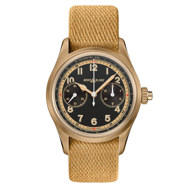 Montre Montblanc 1858 Bronze 42mm Automatic Chronograph