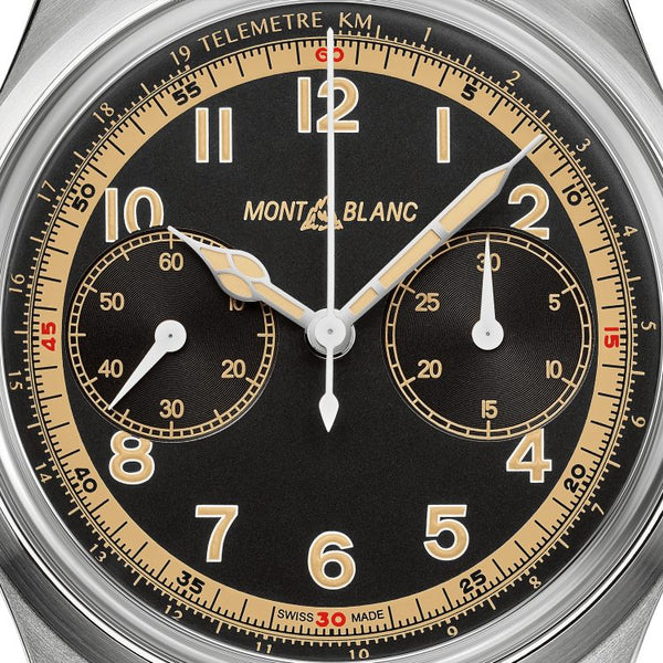 Montre Montblanc 1858 Monopusher Chronograph