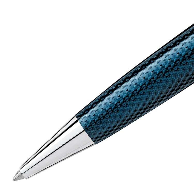 Stylo bille Meisterstück Solitaire Blue Hour Taille Moyenne - Boutique-Officielle-Montblanc-Cannes