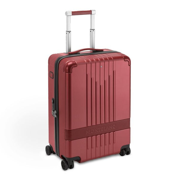 Valise cabine 4 roues #MY4810 Montblanc x (RED) - Boutique-Officielle-Montblanc-Cannes
