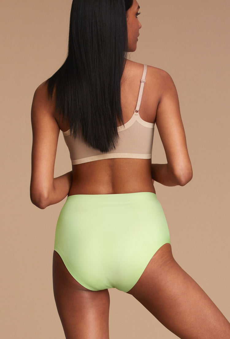 Sharp Green Highwaisted