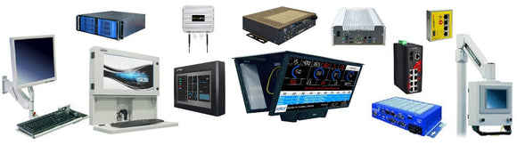 Industrial Automation Specialists, Ethernet Switches, Touchscreens, PC's, Monitors, HMI, Andon, Enclosures, Mounts.