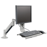 7509 – Data Entry Monitor Arm and Keyboard Tray