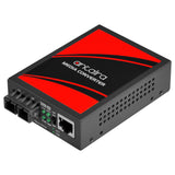 10/100/1000TX To 1000SX Media Converter, Multi-Mode 550M, SC Connector