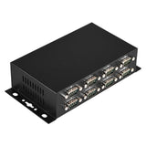 Industrial 8-Port RS-232 to USB 2.0 High Speed Converter with Locking Feature and w/Surge & Isolation
