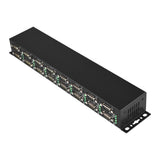 Industrial 16-Port RS-232 to USB 2.0 High Speed Converter with Locking Feature