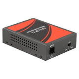 10/100TX To 100FX PoE Media Converter, Multi-Mode 2km - 30km, SC Connector (* Power Injector Function *)