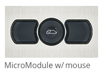 Micromodule Panel Mount Mouse