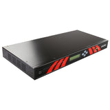 8-Port 1U Rackmount Industrial RS232 Serial Device Server, AC Input