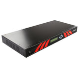 8-Port 1U Rackmount Industrial RS422/485 Serial Device Server w/Optical Isolation, AC Input