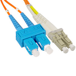 SC To LC 0.5-1-2-5-20 Meter Multi-Mode Duplex Cable
